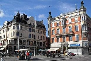 Central square in Linköping