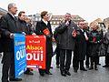 Strasbourg, campagne pour le Conseil unique d'Alsace 2 mars 2013.jpg