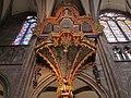 Strasbourg Cathedral pipe organ from below.jpg