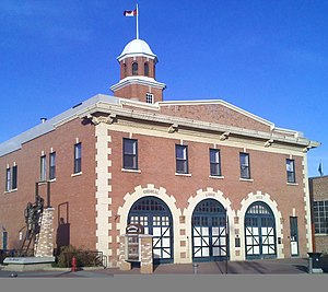 Edmonton Fire Rescue Services - Image: Strathcona Fire Hall No. 1