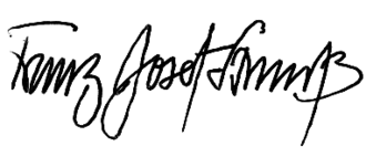 Franz Josef Strauss - Image: Strauss Franz Josef Signature 02 mono 25p transp