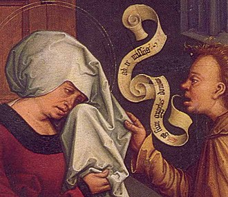 Speech balloon - Image: Strigel 1506 detail