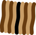 Stripes pattern in Asiatic striped squirrel.png