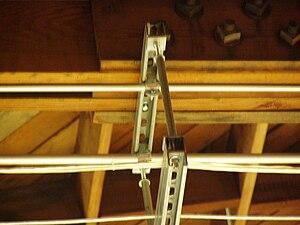 Strut channel - Image: Strut Hanger