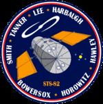 Missionsemblem STS-82