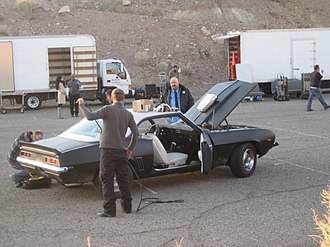 Stylo (song) - Stylo hero car on location at Calico, CA