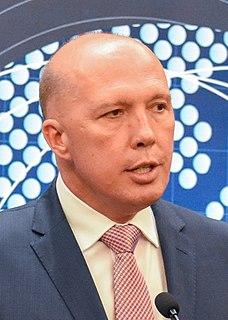 Peter Dutton Australian politician