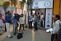 Sukanta Pal - Sumantro Mukherjee - Ayan Choudhury - Doordarshan Interview - Wikimedia Stall - 38th International Kolkata Book Fair - Milan Mela Complex - Kolkata 2014-02-07 8483.JPG