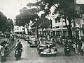 Sukarno and Fatmawati in motorcade, Impressions of the Fight ... in Indonesia, p31.jpg