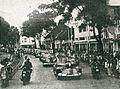 Sukarno and Fatmawati in motorcade, Impressions of the Fight ... in Indonesia, p31.jpg