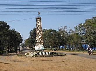 Sumbawanga - The Sumbawanga Memorial.