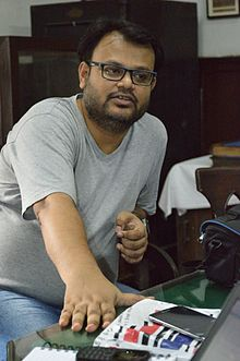 Sumit Surai Speaks - Wikimedia Meetup - St Johns Church - Kolkata 2016-09-10 9456.JPG