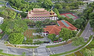 Sun Yat Sen Nanyang Memorial Hall - Aerial photograph of Sun Yat Sen Nanyang Memorial Hall in Singapore