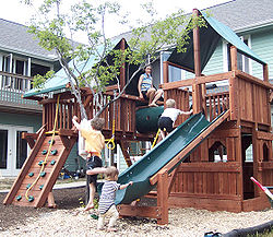 Cohousing wikipedia for Wooden jungle gym plans