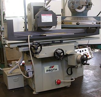 Grinding machine - A surface grinder.