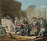 Surrender of The City of Madras 1746