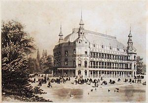 Royal Surrey Gardens - Surrey Music Hall ca. 1858