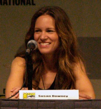 Susan Downey - Downey at the 2009 San Diego Comic-Con International