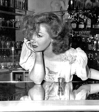 Nightclub act - Susan Hayward as an alcoholic nightclub singer in Smash Up (1947)