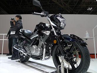 Suzuki GW250 - Suzuki GW250 at the Tokyo Motor Show