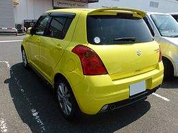 Suzuki SWIFT SPORT (ZC31S) rear.JPG