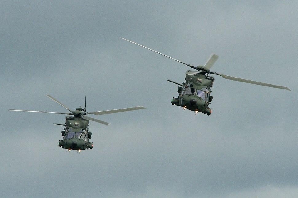 Swedish AF NH-90s 141043 43 & 142045 45 (8370650377)