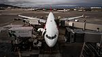 Swiss Airbus A340-300 waiting at gate G96 of SFO before flight LX39 to ZRH.jpg