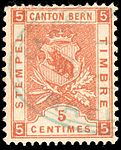 Switzerland Bern 1898 revenue 5c - 51 III-98.jpg