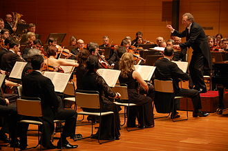 Prague Symphony Orchestra - Prague Symphony Orchestra at a concert tour in Japan, January 2008.