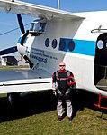 Szymon Szpitalny, Antonov An-2 SP-AOB, Gliwice 2017.09.09 (01).jpg