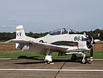T-28B 137777 NX377WW, Belgian Air Force Days 2018 pic2.jpg