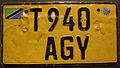TANZANIA 2000's -TWO LINE PASSENGER PLATE - Flickr - woody1778a.jpg