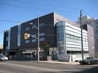 York, Toronto - The Maria Shchuka branch of the Toronto Public Library was built in 2003.