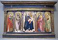 Taddeo gaddi, madonna in trono col bambino e santi, 1340 ca. 01.JPG