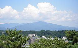 Taiheizan, Akita, from Sensyū Park.jpg