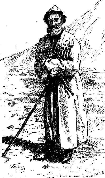 Tatar de Khourzouk. Grove, Florence Craufurd. Le Caucase. 1899. P.16