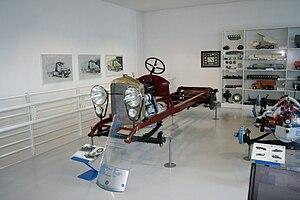Tatra 10 - Tatra 10 chassis