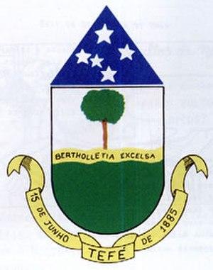 Tefé - Image: Tefe brasao