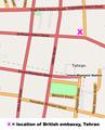 Tehran British Embassy map.png