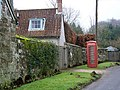 Telephone box, Donhead St Mary - geograph.org.uk - 1172337.jpg