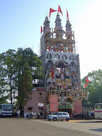 Raipur - Image: Tempio Raipur