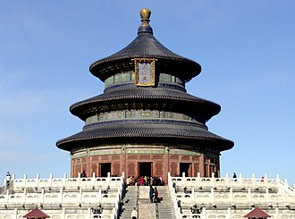 Tourist Attraction Rating Categories of China - Image: Templeof Heaven Hallof Prayer