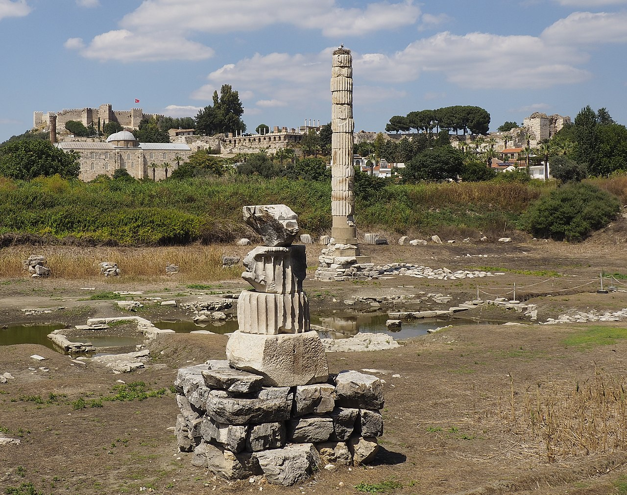 temple of Artemis - letter to the church in Ephesus