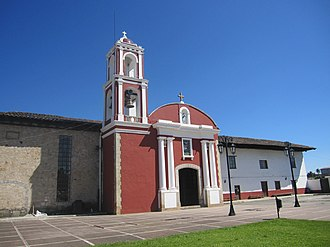 Acaxochitlán - chapel of Our Lady of Guadalupe.