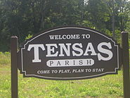 Tensas Parish welcoming sign IMG 1226