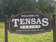 Tensas Parish welcoming sign IMG 1226
