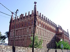 Colegio de Teresianas, Barcelona (1888–1889)