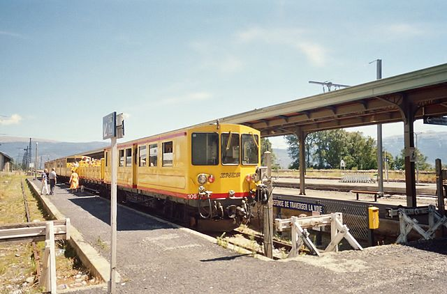 Terminus de Train jaune