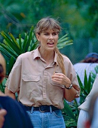 Terri Irwin - Irwin at Australia Zoo, 2000