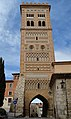 Teruel, Torre de San Martín, desde la calle Amantes.jpg